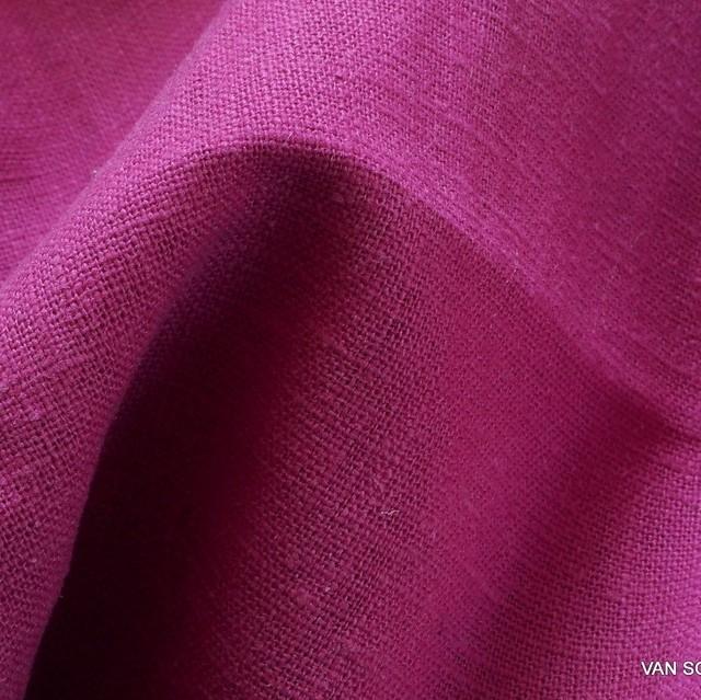 100% Leinen in Pink