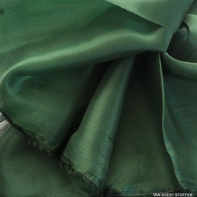 100% original Bemberg Cupro Pongee Leichtfutter in dunkel Grün