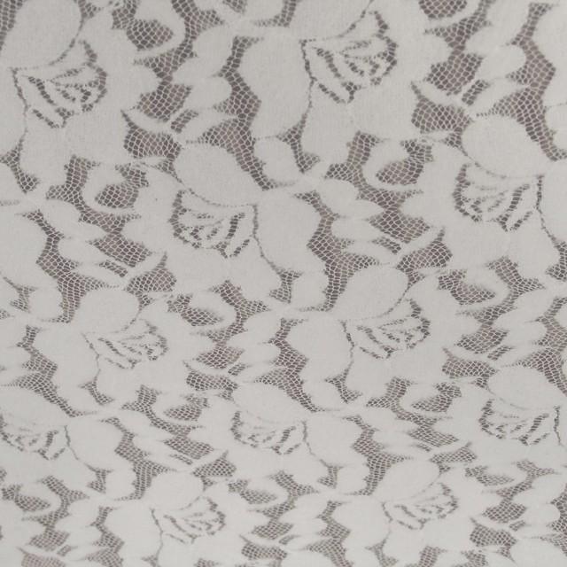 ausgefallene stoffe modestoffe spitzen 4 way micro spitze in wei farbe transparent woll wei. Black Bedroom Furniture Sets. Home Design Ideas