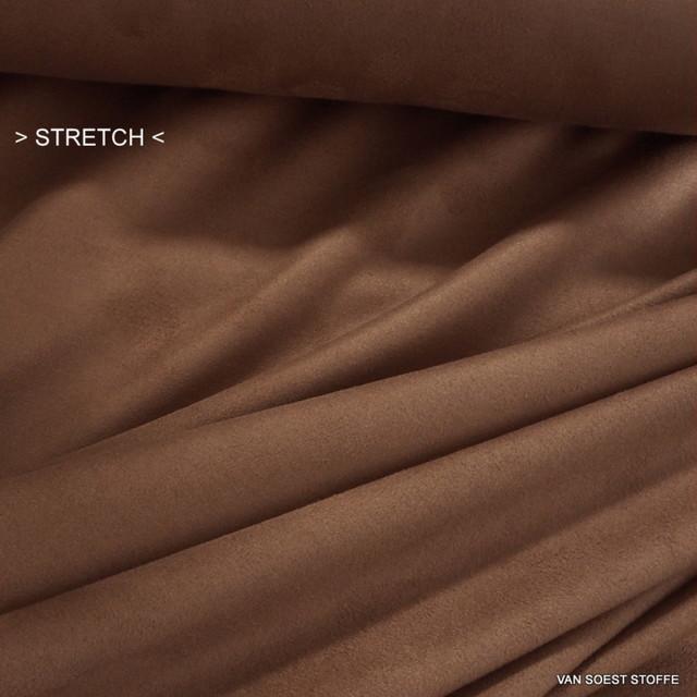 Cashmira° Stretch Lederimitat in Camel - Burda Style