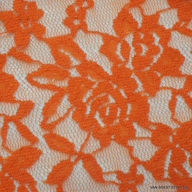 Hoch Elastische Gemini Spitze in Orange