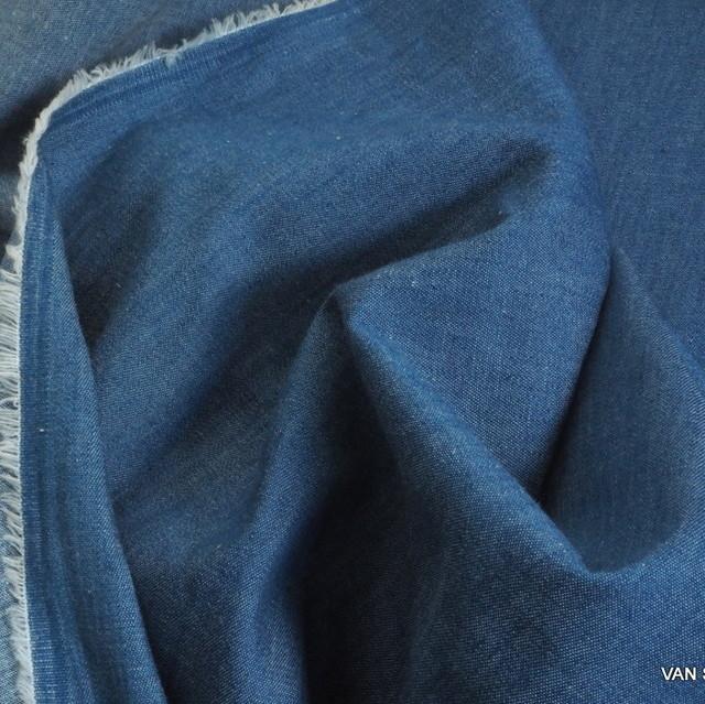 Jeans Stoff in hellblau