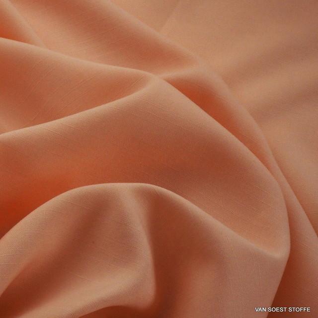TECHNOSILK 100% TENCEL® Stoff in Hell Orange
