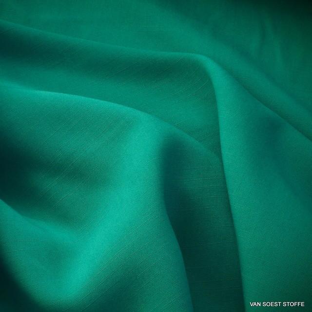 TECHNOSILK 100% TENCEL® Stoff in Aquagrün