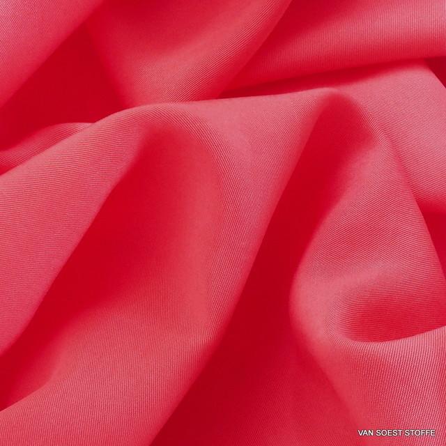 100% TENCEL® Soft Gabardine in neuem Pink-Orange