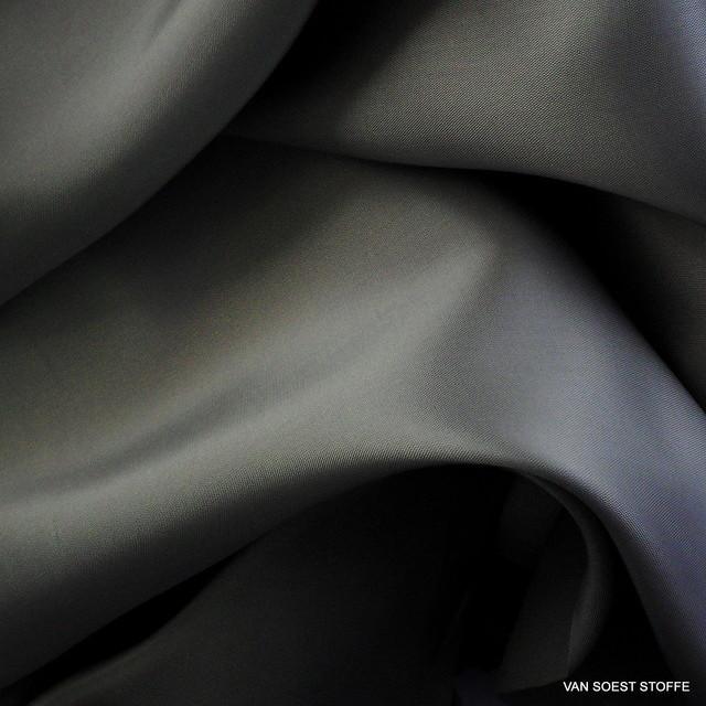 100% Viskose Futterstoff in Silber Grau