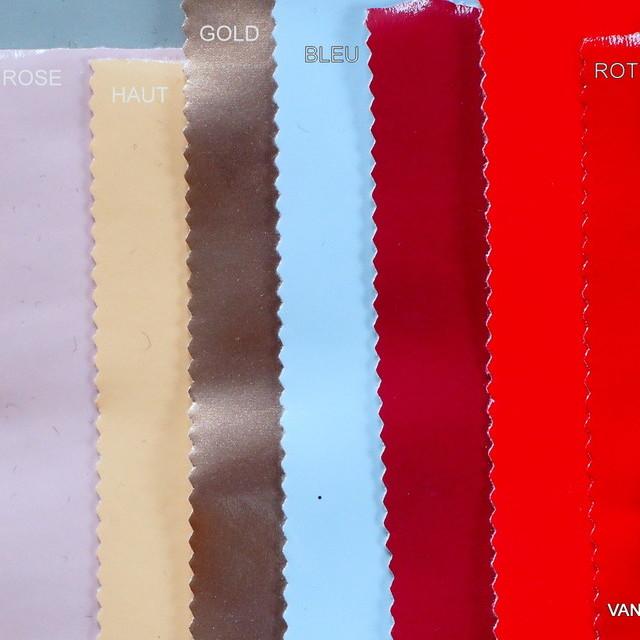 Wetlook soft Vinyl in Farbe Rosa mit Abseite in weiß