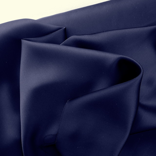Royal Navy Stretch Satin