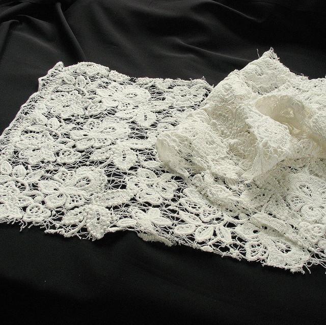 ausgefallene stoffe modestoffe spitzen spitzenstoffe kaufen schwere guipure soft spitze in. Black Bedroom Furniture Sets. Home Design Ideas