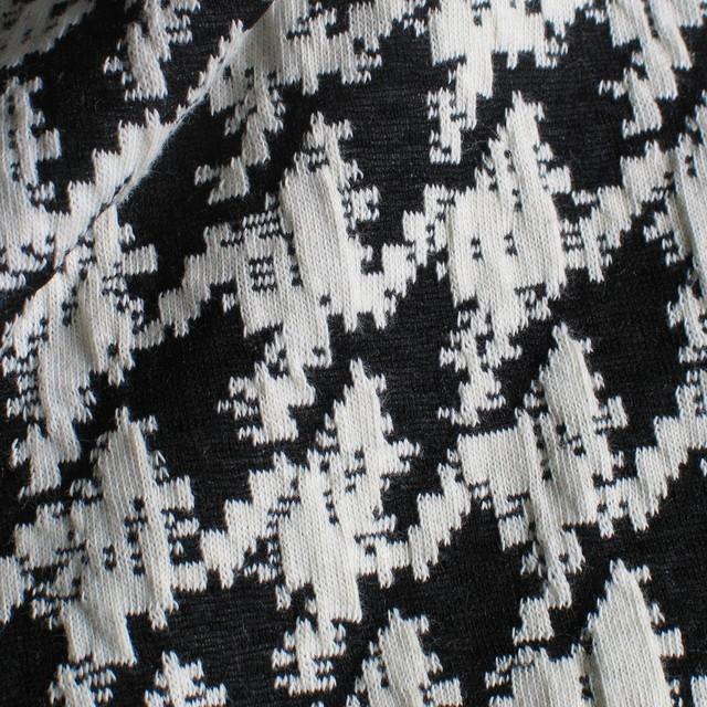 ausgefallene stoffe modestoffe spitzen stretch jersey hahnentritt schwarz wei farbe. Black Bedroom Furniture Sets. Home Design Ideas