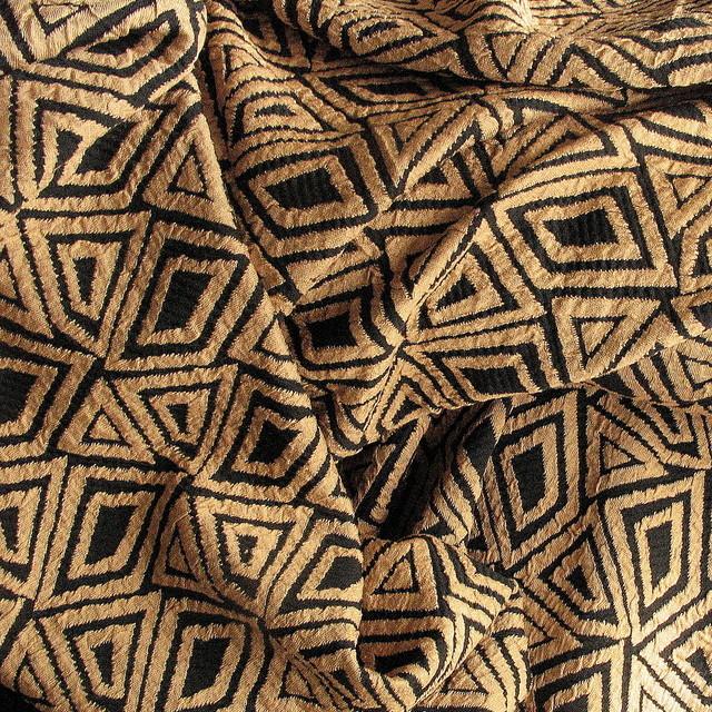 ausgefallene stoffe modestoffe spitzen stretch jersey stoffe meterware rombe jacquard in. Black Bedroom Furniture Sets. Home Design Ideas
