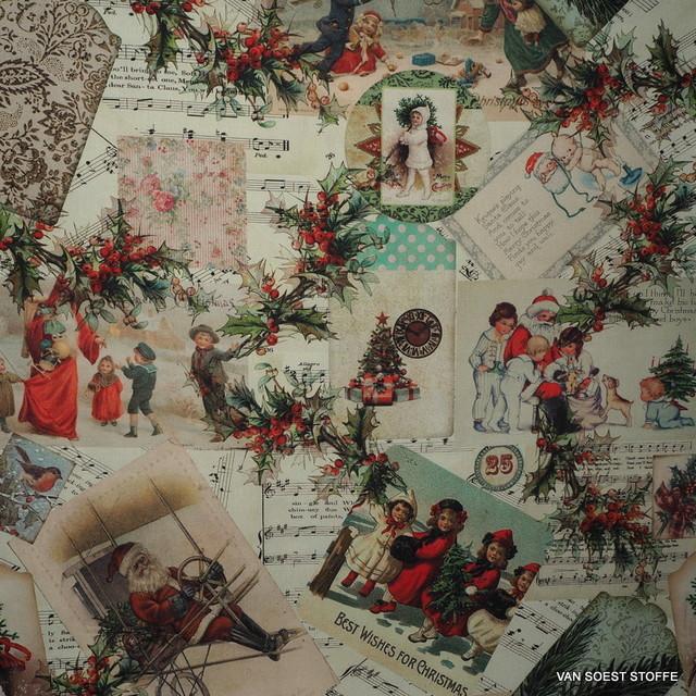 Weihnachts Stoffe Deko Stoffe Englisch