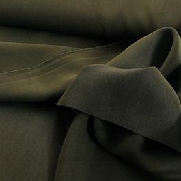 Stoff 0938 - 100 % Tencel Soft Gabardine in dunkel Khaki