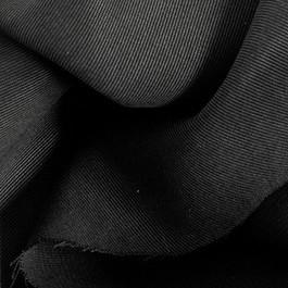 Stoff 100 % Tencel schwerer Soft Gabardine in Schwarz