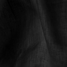 Stoff 100% feinstes Leinen  in Schwarz