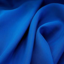 Stoff 100% Rolva Twill in Kobalt Blau
