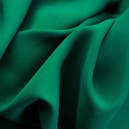 Stoff 100% Rolva Twill in Smaragd Grün