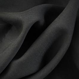 Stoff 100% Tencel soft Köper in Schwarz