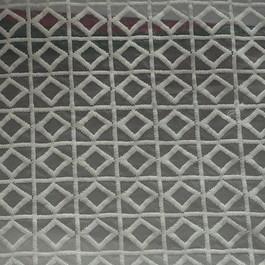 Stoff Junge modische Stickerei in Weiß auf Organza